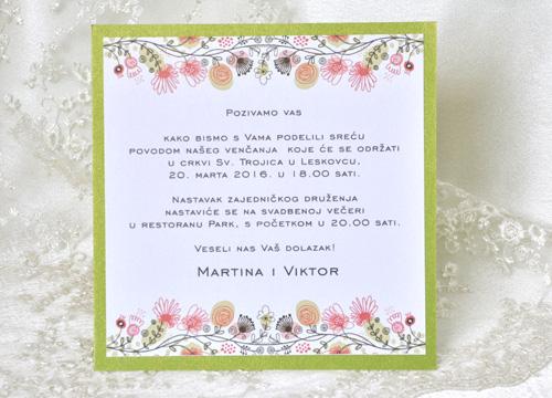 Pozivnice za venčanja